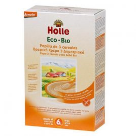 Papilla 3 cereales Bio 250 gr Holle